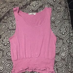 Heart and Hips pink tank top